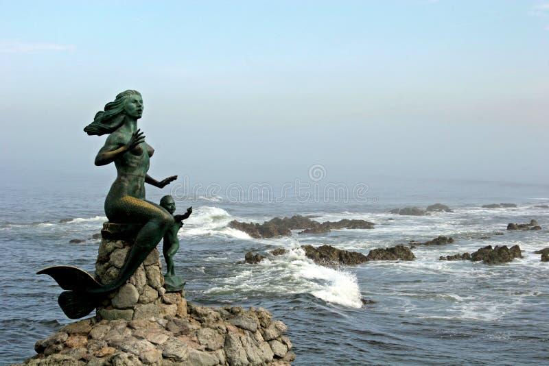1 mermaid royaltyfria foton
