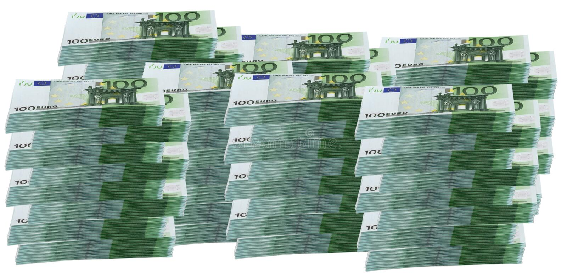 1 Million D Euro Photos libres de droits