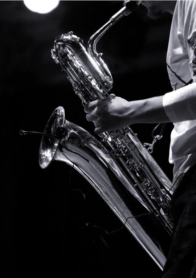 1 musikspelare royaltyfri bild