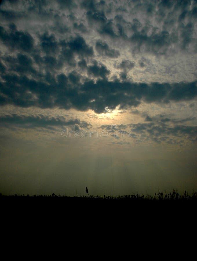 1 niebo fotografia stock