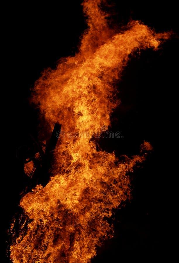 1 ogień zdjęcie royalty free