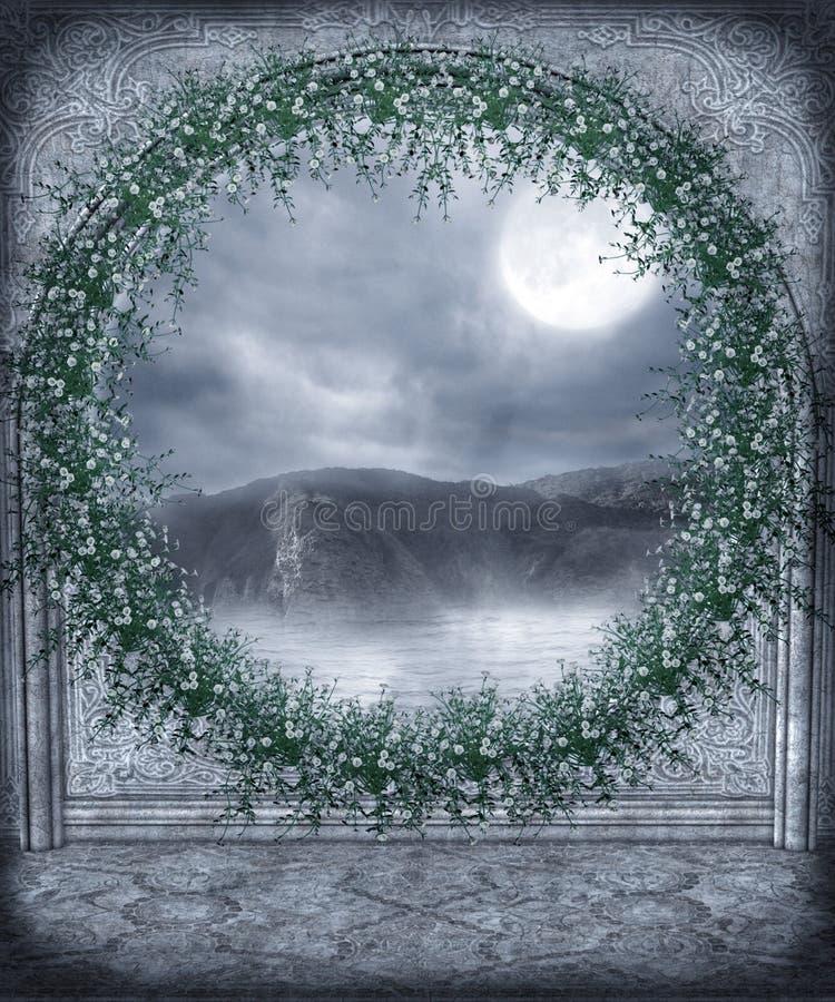 (1) okno ilustracja wektor