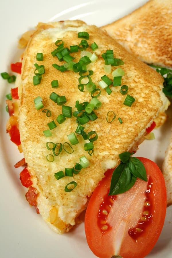 1 omelett arkivbilder