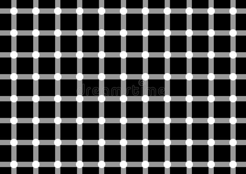 1 optiska illusion royaltyfri illustrationer