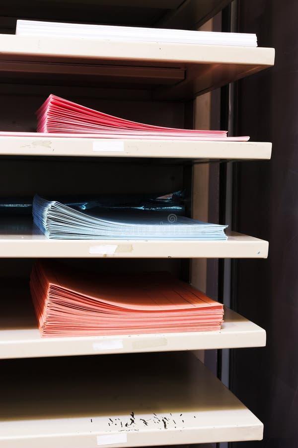 1 paper magasin arkivbilder