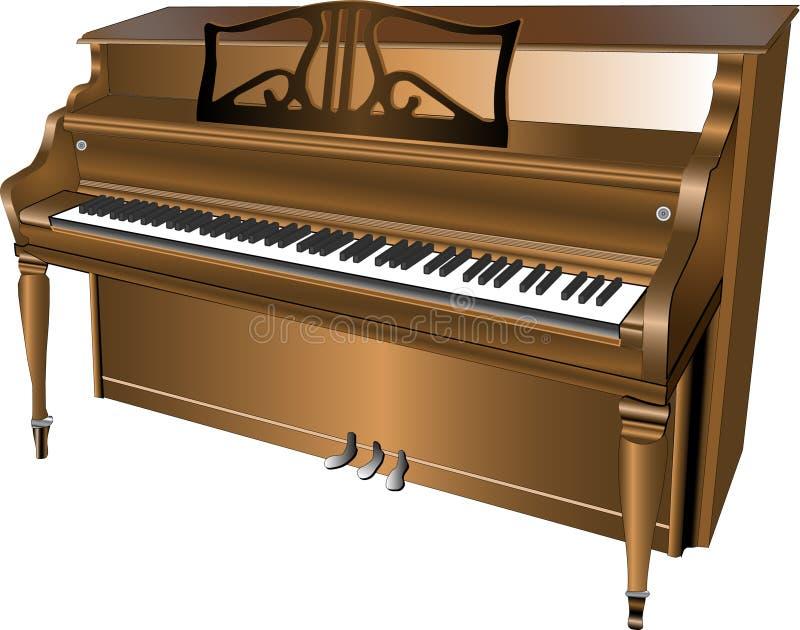 1 pianino obraz stock