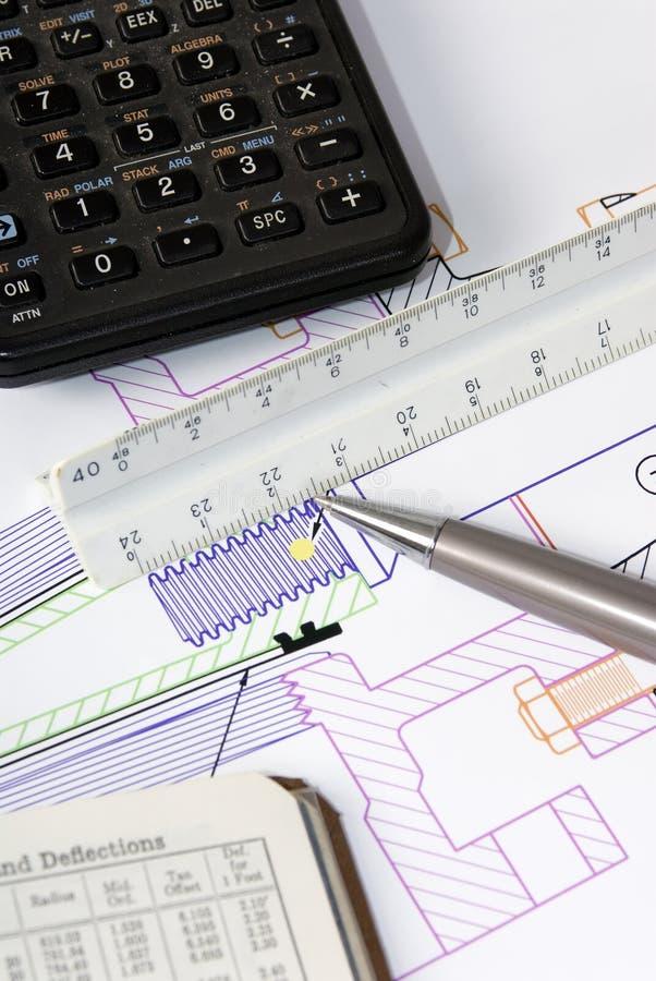 1 projektu inżynierii obrazy stock