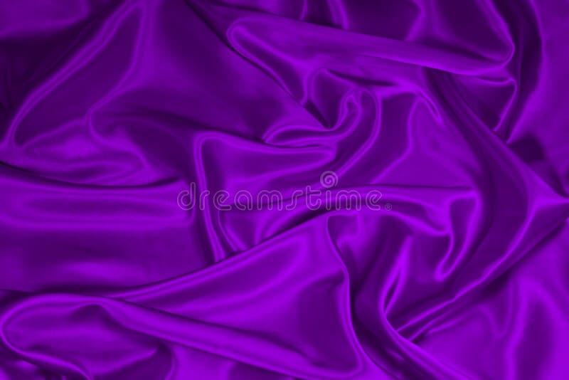1 purpurowa jedwab atłasowy tkaniny zdjęcia stock