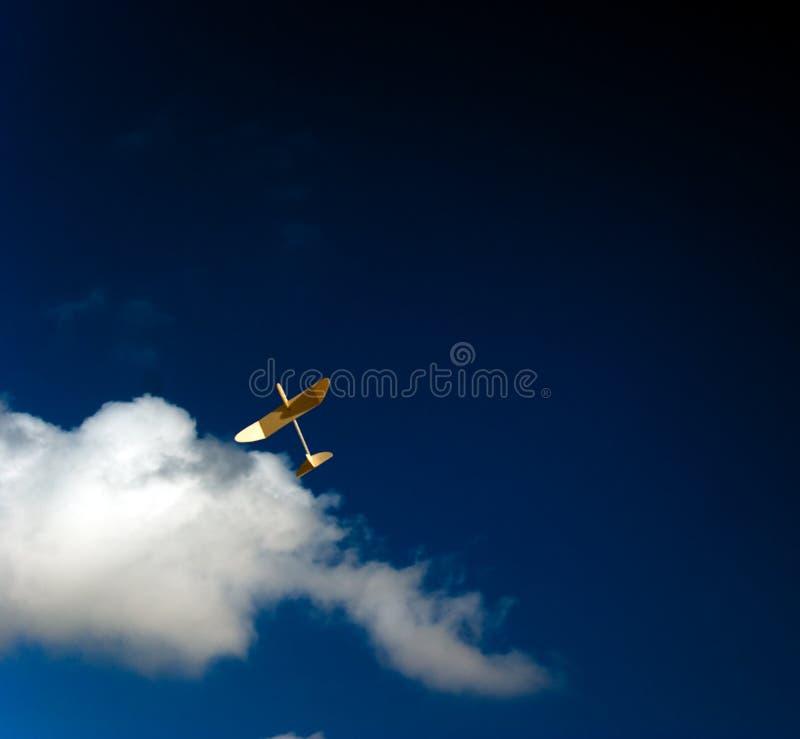 1 sailplane arkivfoton