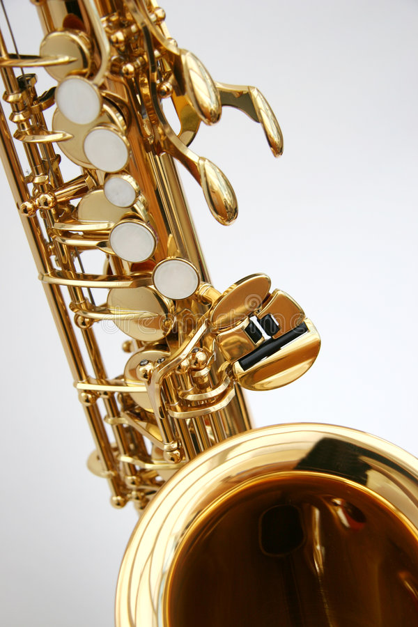 1 saxophone στοκ φωτογραφία με δικαίωμα ελεύθερης χρήσης