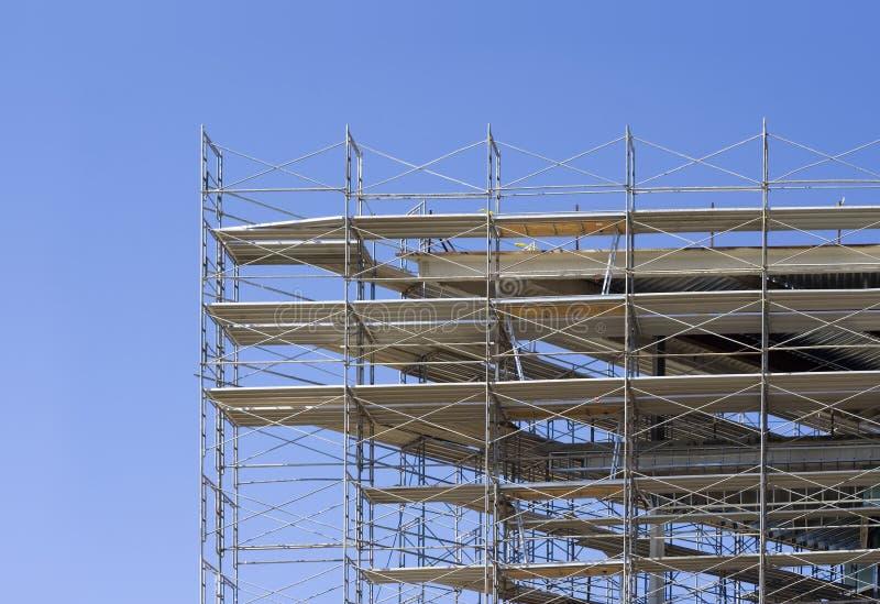 1 scaffold fotografering för bildbyråer