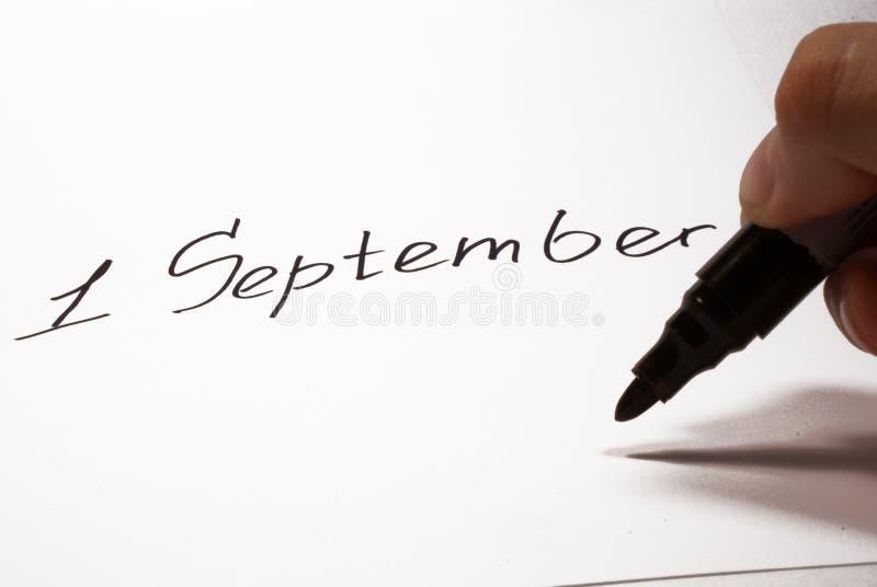 1 setembro fotos de stock