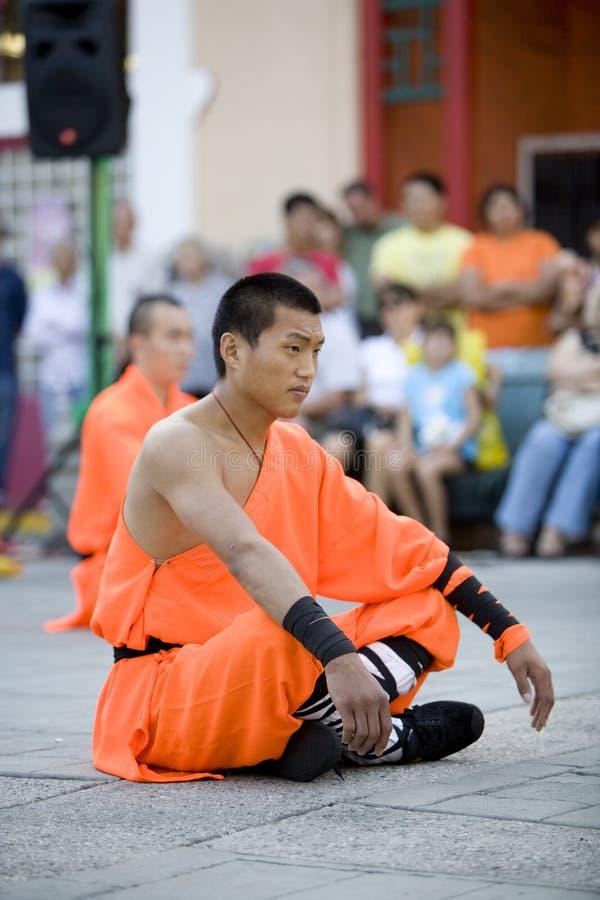 1 shaolin kung - fu. obraz royalty free