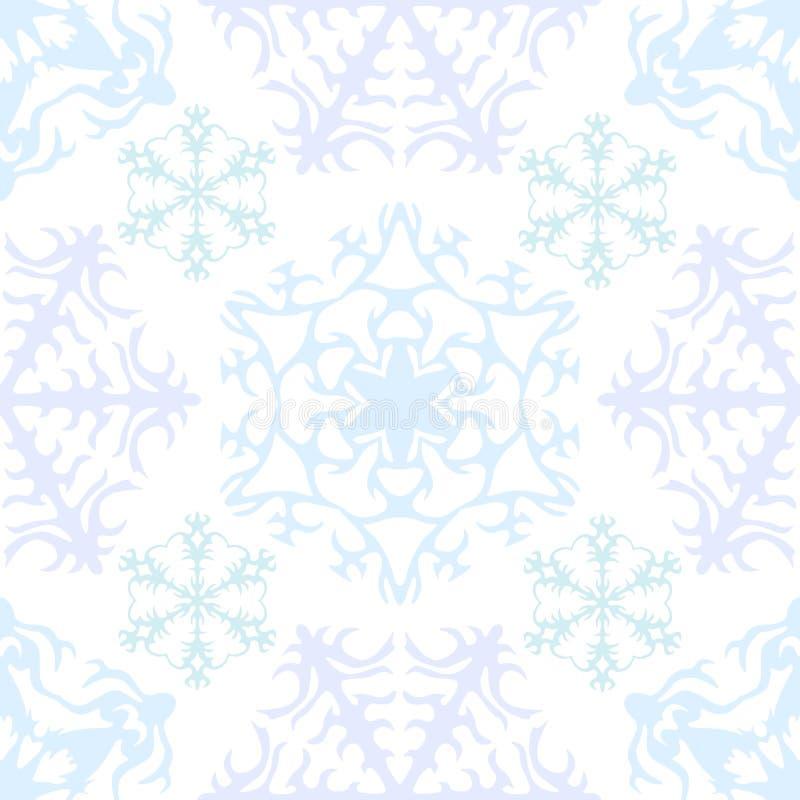 1 snowfiake gwiazdy ilustracja wektor