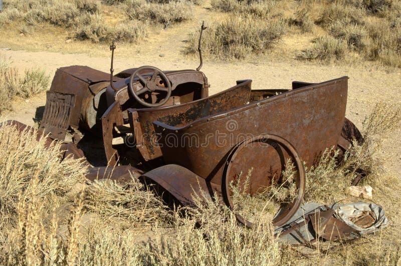 1 stary odwracalny rusty zdjęcie stock