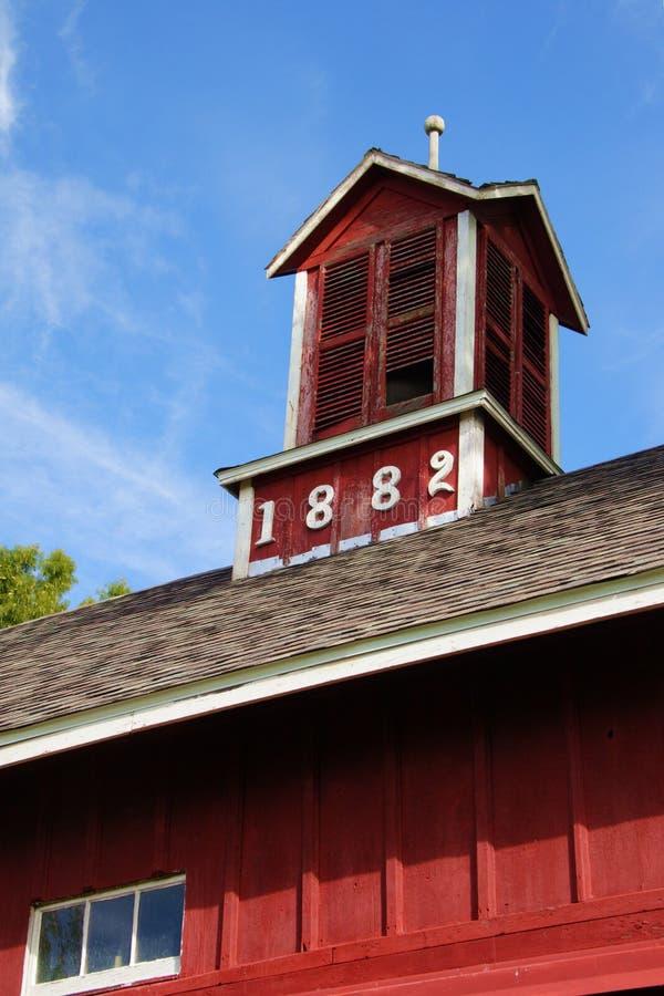 1 stodole 1882 obraz stock