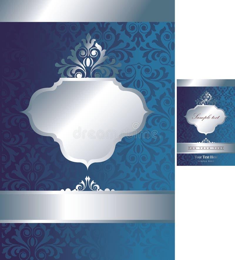 1 tła 2 rocznik royalty ilustracja
