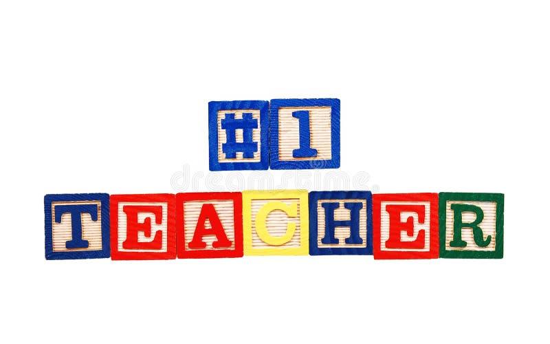 #1 teacher stock photography