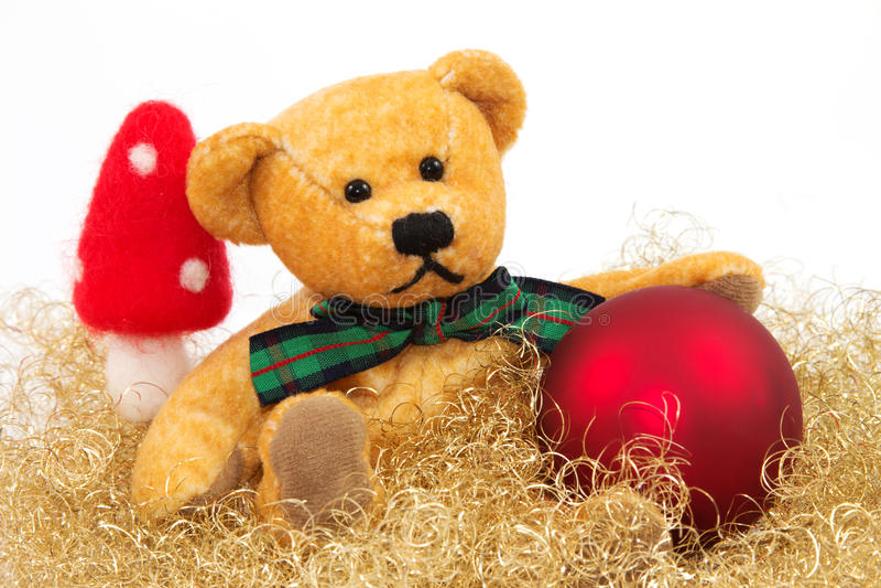 1 teddy στοκ εικόνες