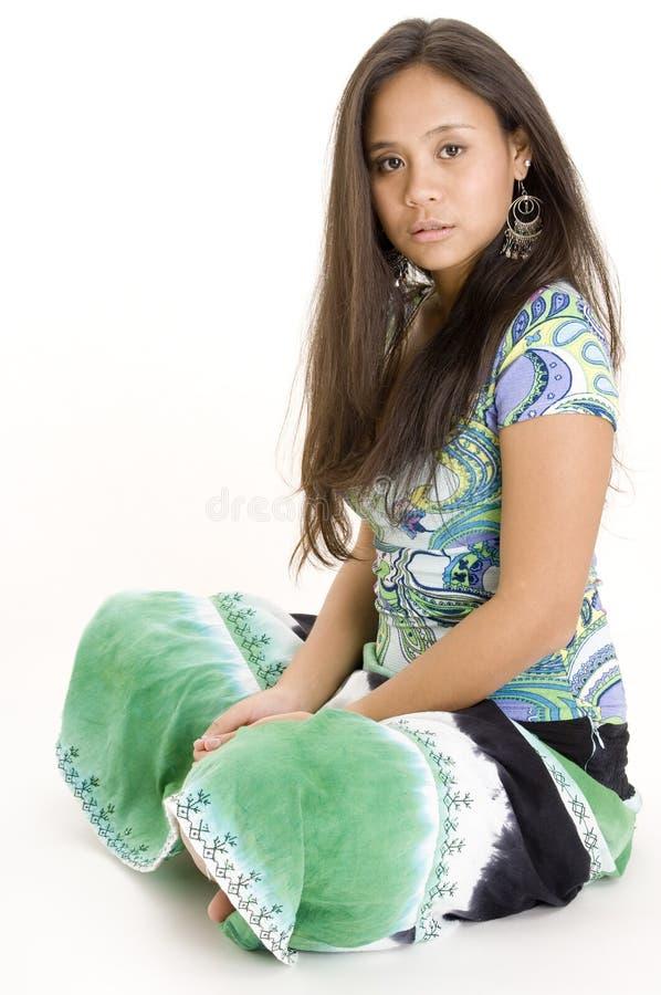 1 teenager variopinto fotografia stock libera da diritti