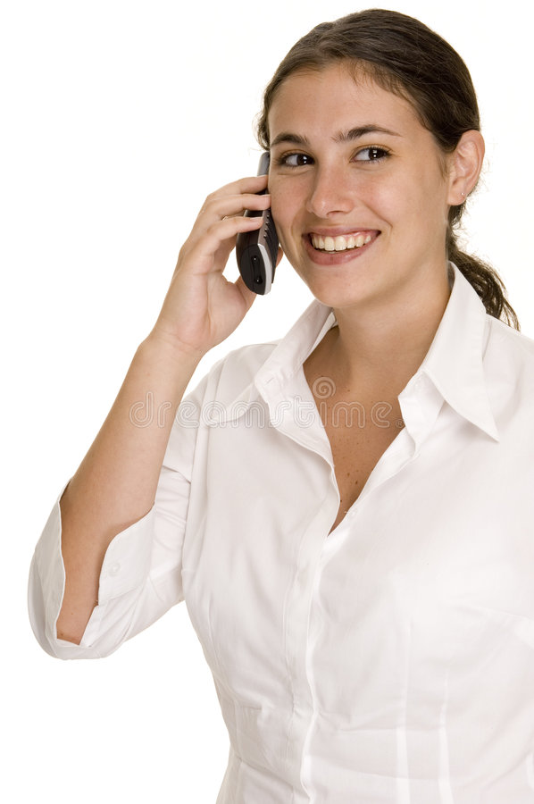 1 Telefon Royaltyfri Fotografi