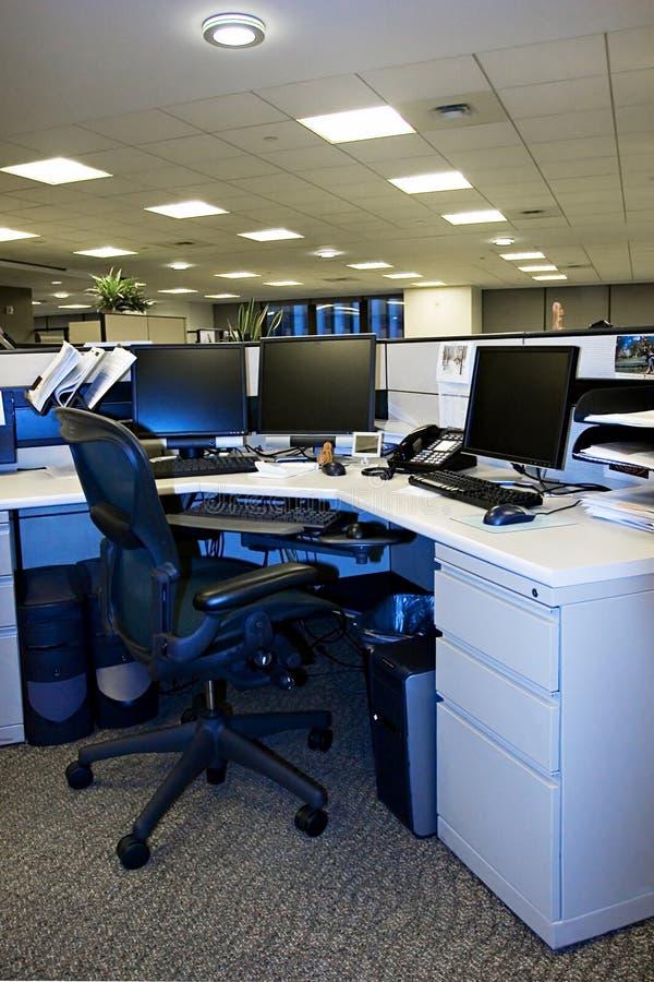 1 tomma kontor fotografering för bildbyråer