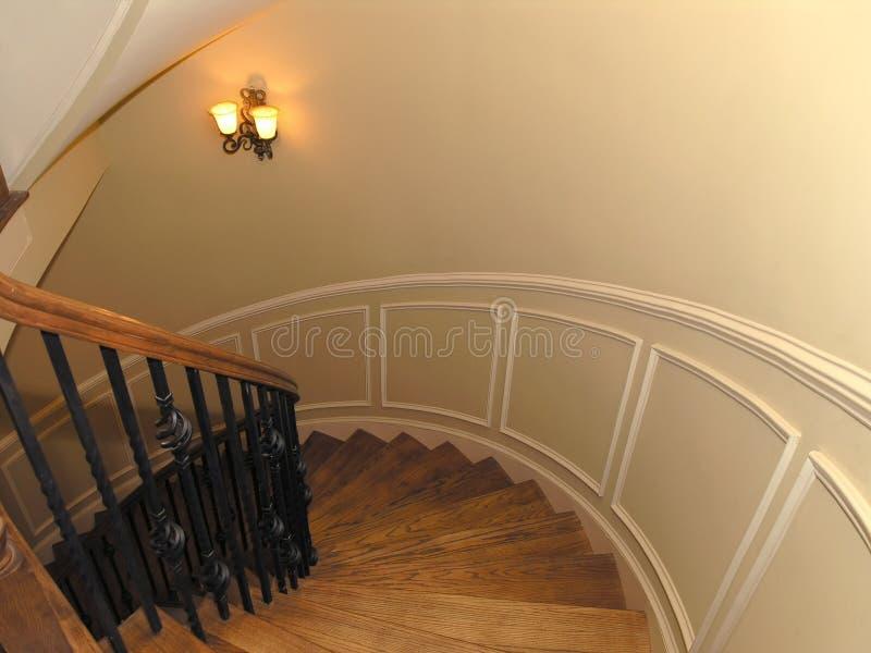1 trappuppgång för 2 lyx arkivbilder