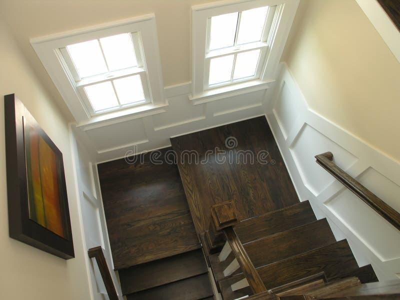 1 trappuppgång för 4 lyx arkivfoton