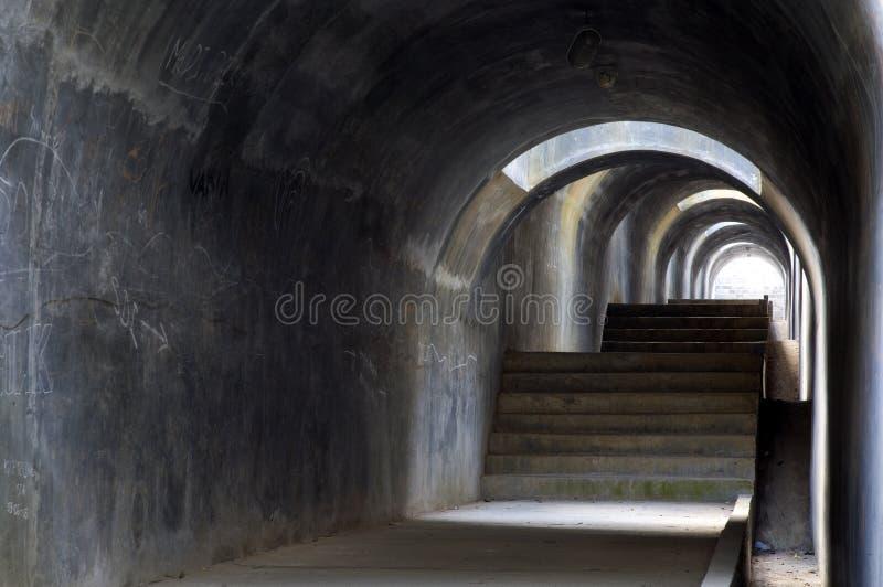 1 tunnel arkivfoto