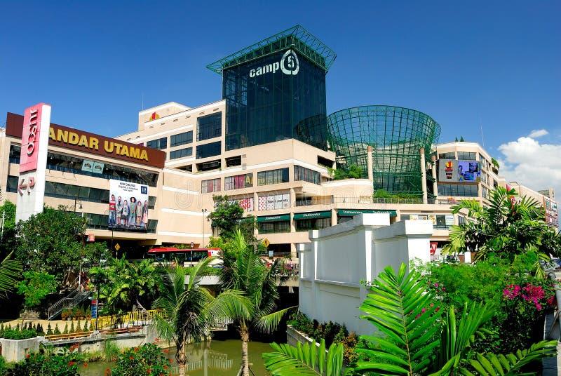 1 Utama Shopping Complex stock photo