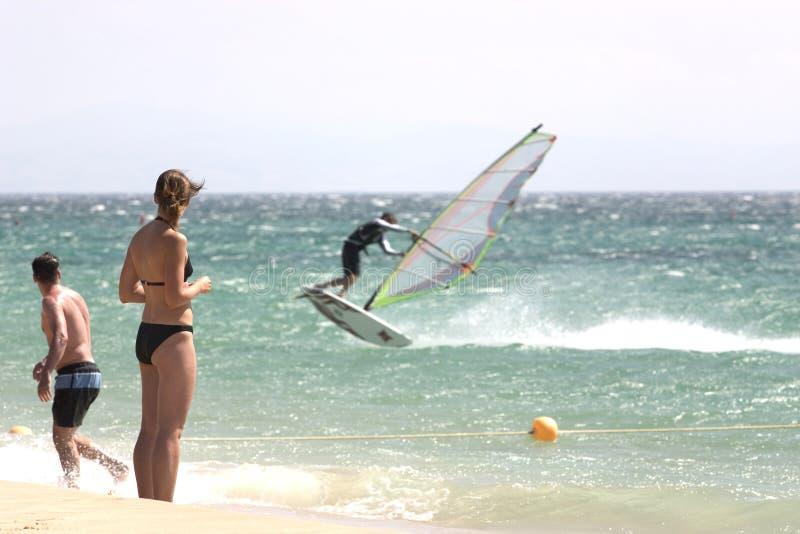 Download 1 windsurf στοκ εικόνες. εικόνα από σερφ, lifestyle, ισπανία - 2225082