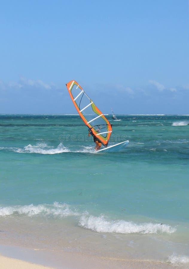 1 Windsurfing fotos de stock royalty free