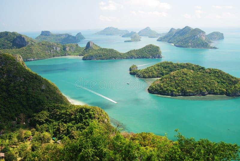 1 wyspy angthong ko to obrazy stock