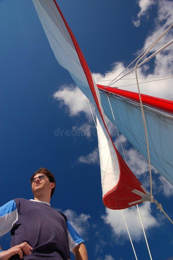 1 yachtman стоковая фотография