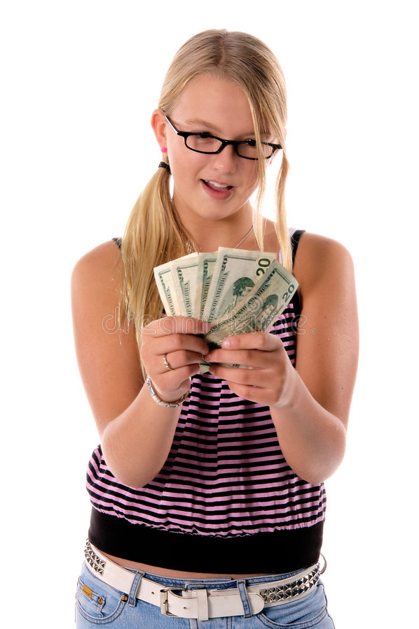 1 z powrotem do szkoły pieniężna zdjęcia stock