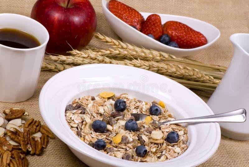 1 zdrowe śniadanie fotografia royalty free