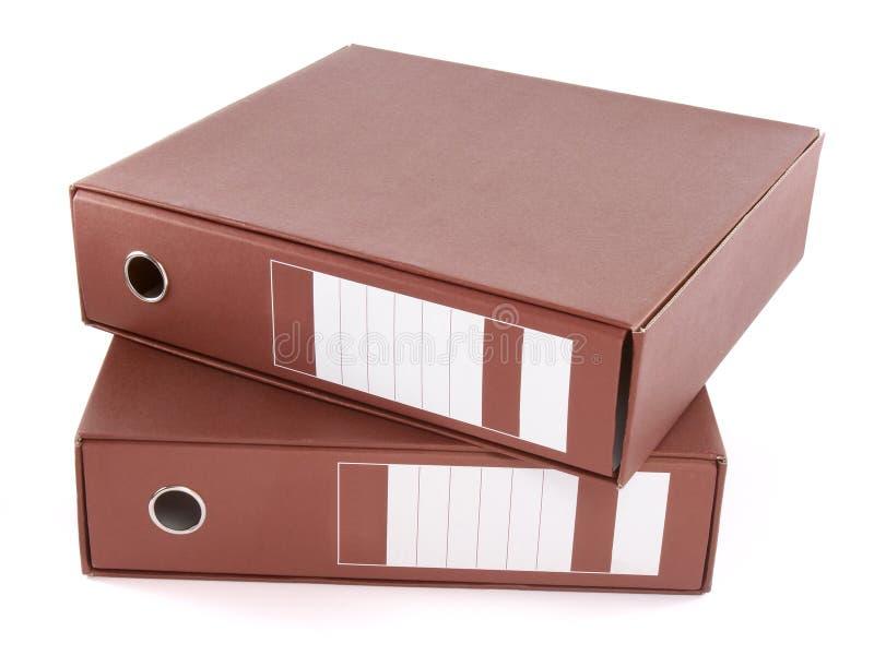 10个文件 免版税库存图片