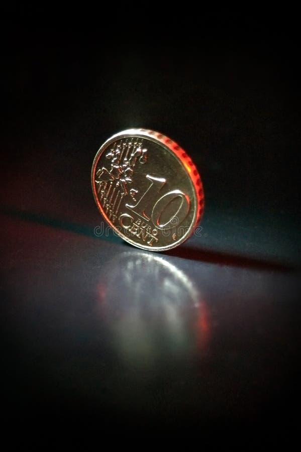 10分欧元 免版税图库摄影