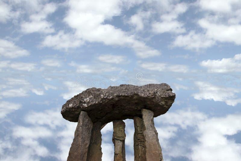 10 αρχαίες πέτρες στοκ φωτογραφία