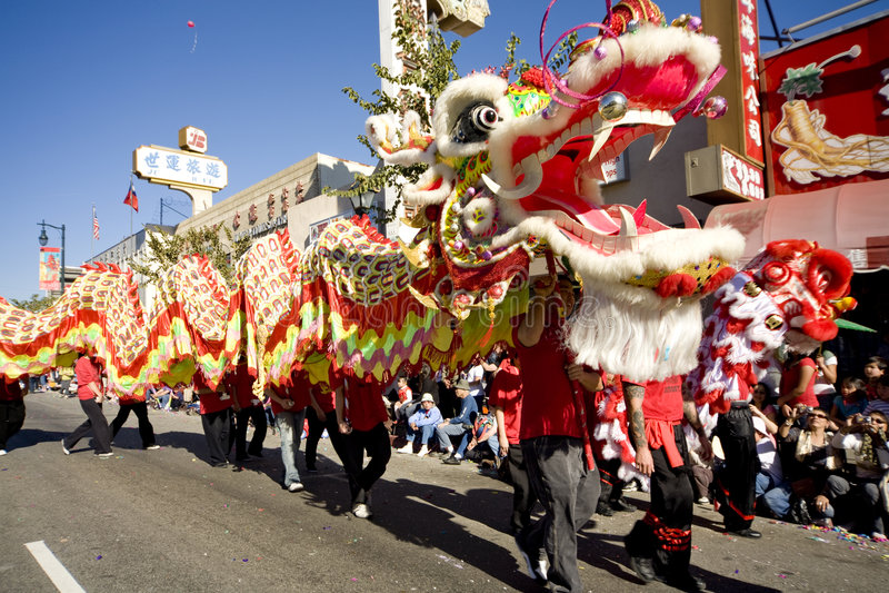 10 κινεζικό έτος παρελάσε&omega