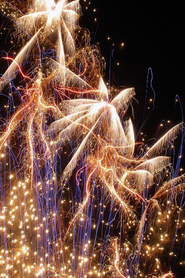 10 πυροτεχνήματα στοκ φωτογραφίες