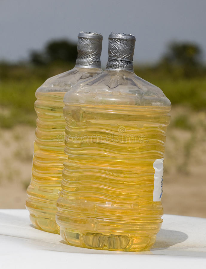 10 галлонов газа стоковая фотография