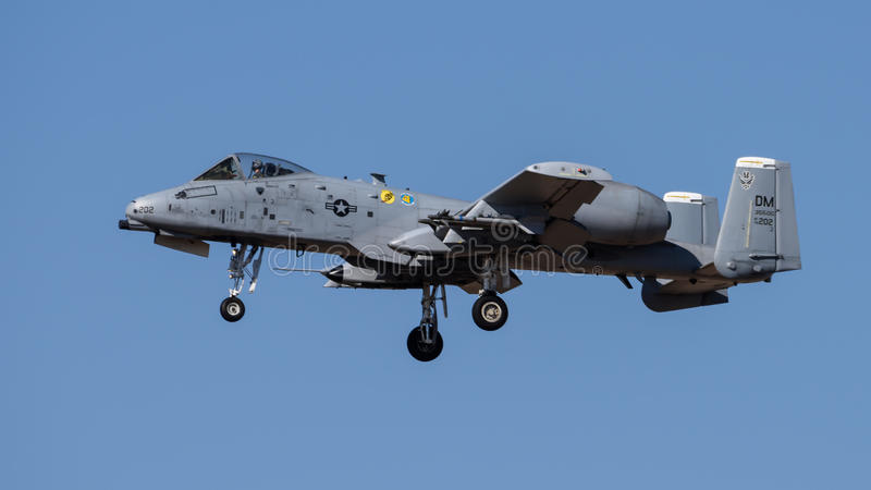 A-10 stock afbeelding