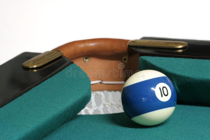 Download 10 ball corner pocket stock photo. Image of start, light - 596440