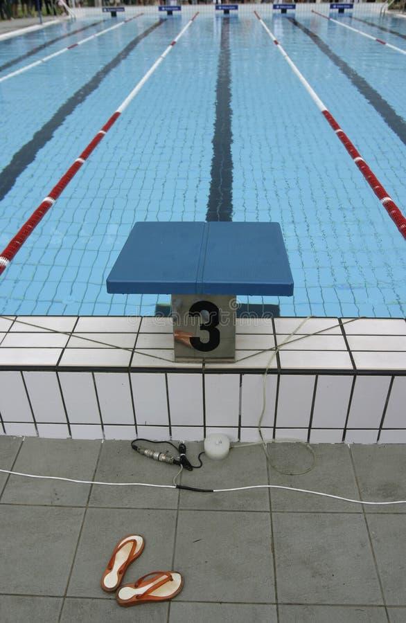 10 basenów dopłynięcie obrazy royalty free