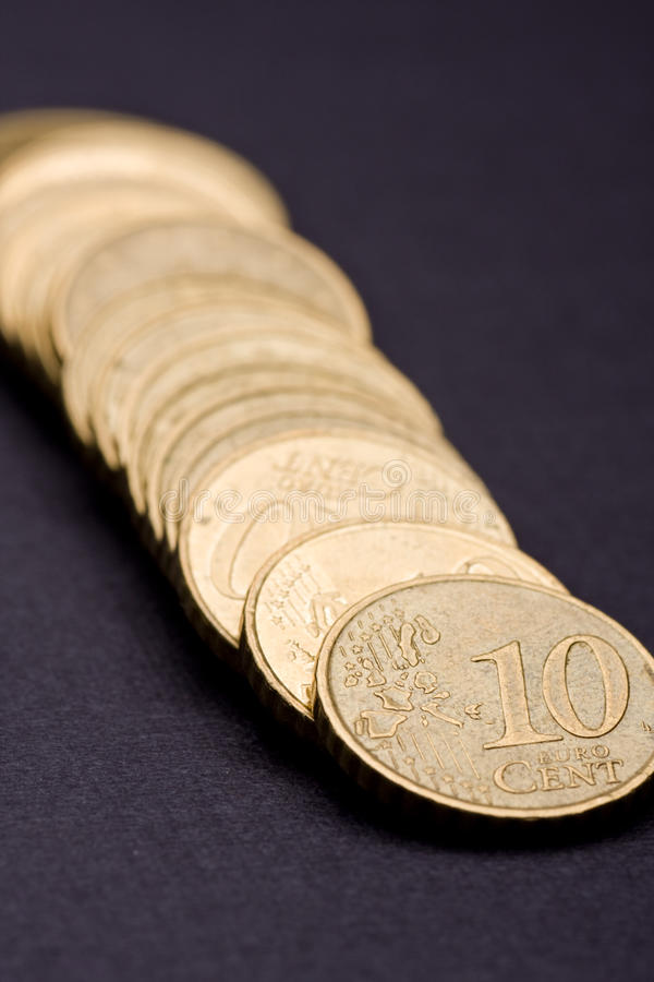 10 Cent Coin Stock Image