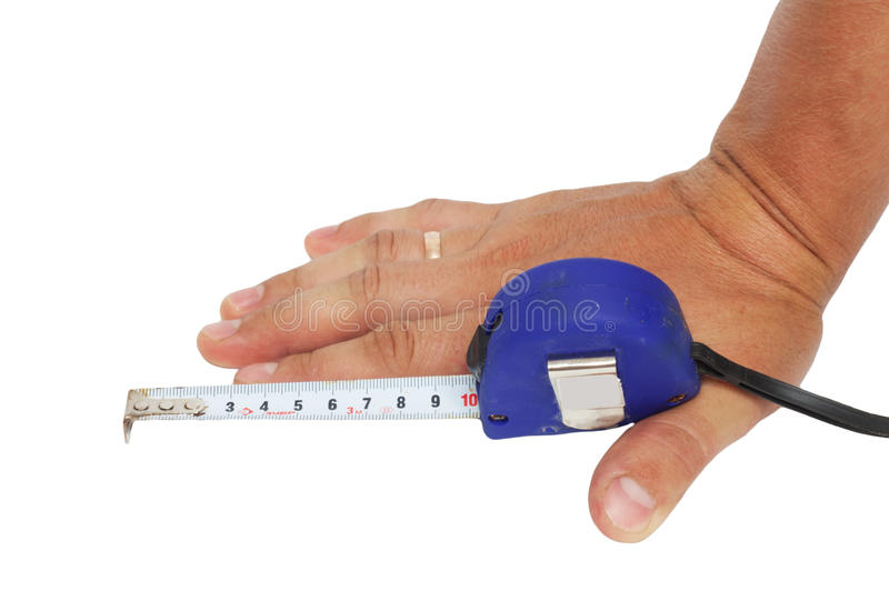 10 cm hand stock photography
