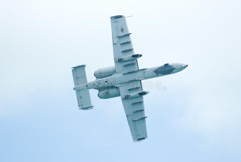 A-10 coup de foudre II à Singapour Airshow 2010 image stock