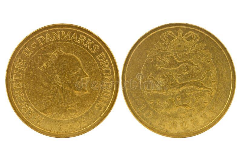 10 Deense kronen royalty-vrije stock afbeelding