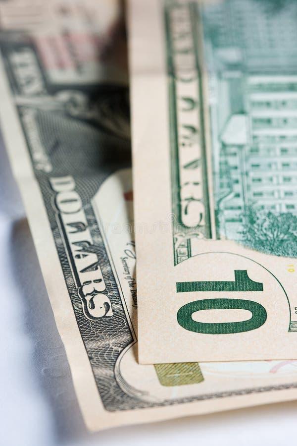 10 Dollar 10 stockbild
